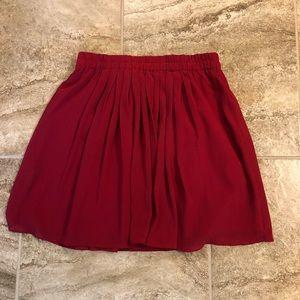 LOFT flowy Mini skirt - Small
